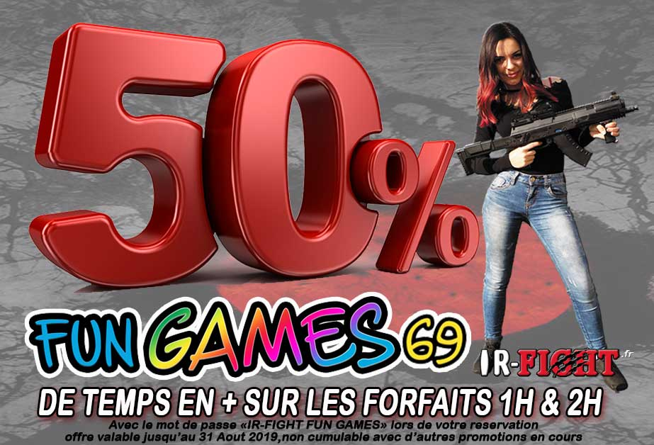 ir-fight Fun Games 69 promotion ete 2019