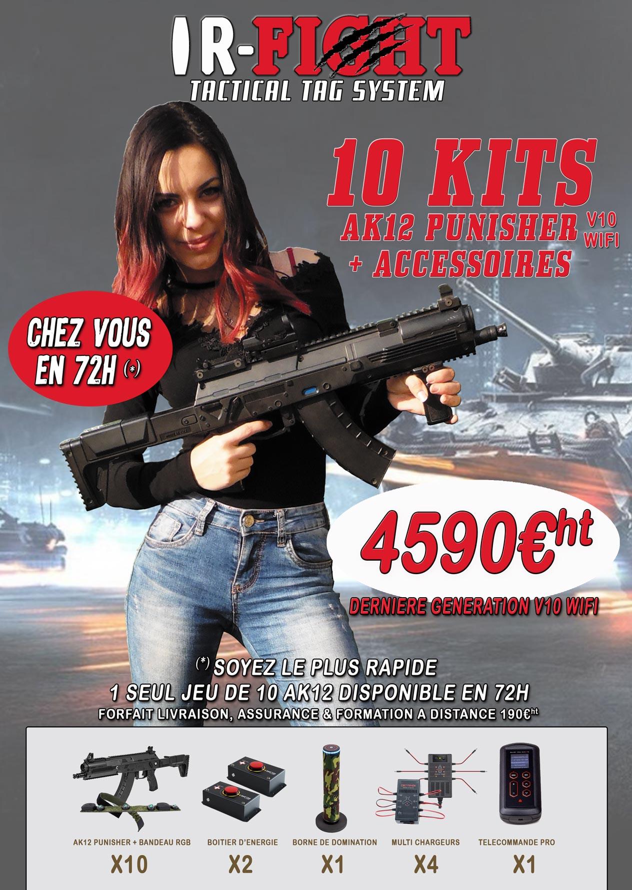 OFFRE IR-FIGHT-AK15-LIVRAISON-72H
