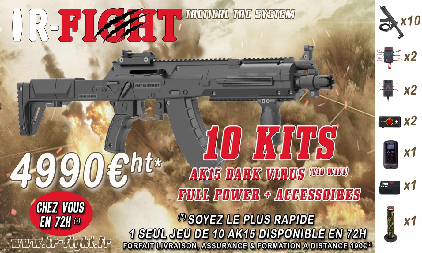 OFFRE IR-FIGHT-AK12-LIVRAISON-72H
