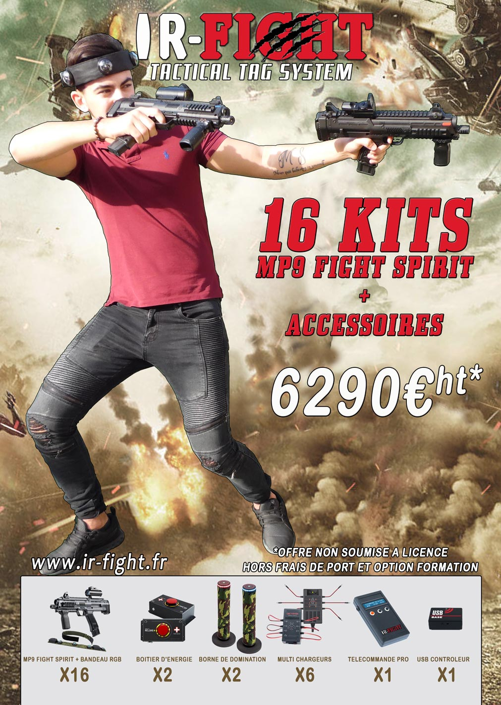 KIT-MP9-X16-IR-FIGHT