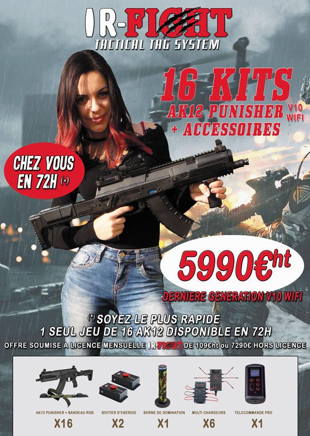 KIT-AK12-X16-IR-FIGHT